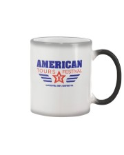 Official American Tours Festival 2020 T Shirt Color Changing Mug thumbnail