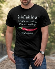 Not Spicy Not Eating T shirt Classic T-Shirt apparel-classic-tshirt-lifestyle-front-53