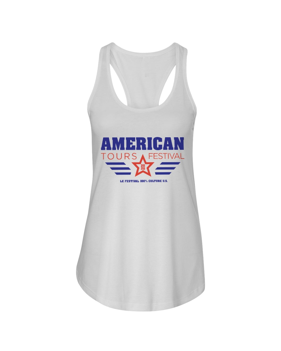American Tours Festival 2020 T Shirts Ladies Flowy Tank