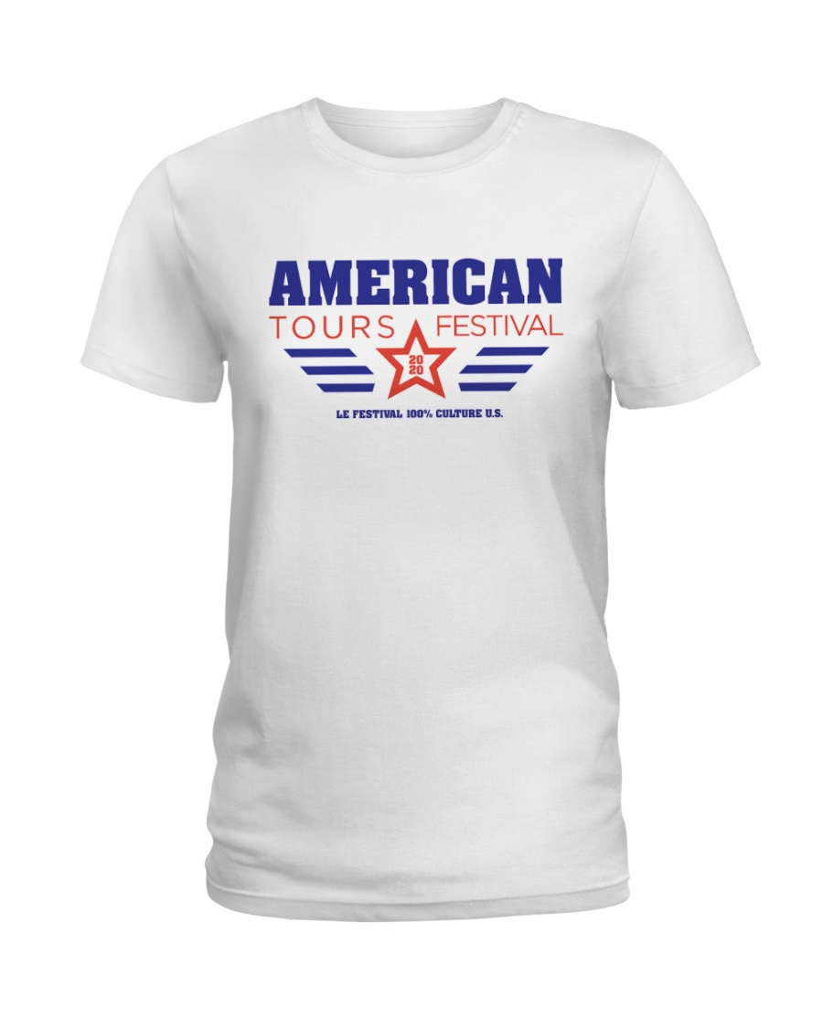 American Tours Festival 2020 T Shirts Ladies T-Shirt