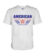 American Tours Festival 2020 T Shirts V-Neck T-Shirt thumbnail