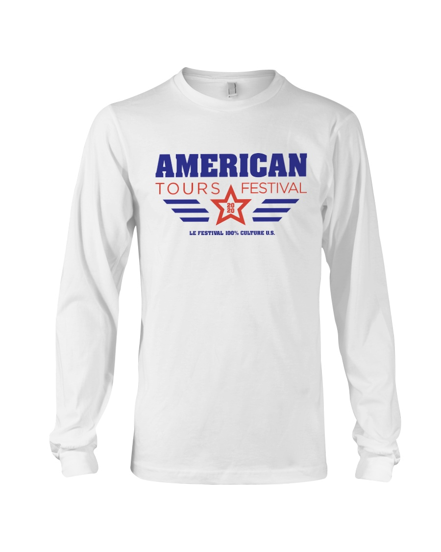 American Tours Festival 2020 T Shirts Long Sleeve Tee