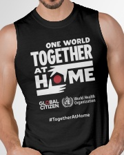 Official One World Toghther At Home T Shirt Sleeveless Tee garment-tshirt-tanktop-detail-front-chest-01