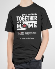 Official One World Toghther At Home T Shirt Youth T-Shirt garment-youth-tshirt-front-lifestyle-01