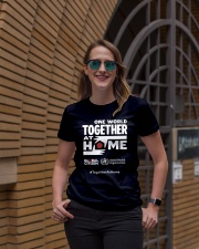 Official One World Toghther At Home T Shirt Ladies T-Shirt lifestyle-women-crewneck-front-2