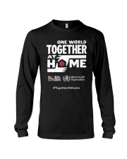 Official One World Toghther At Home T Shirt Long Sleeve Tee thumbnail