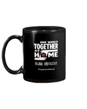 Official One World Toghther At Home T Shirt Mug back