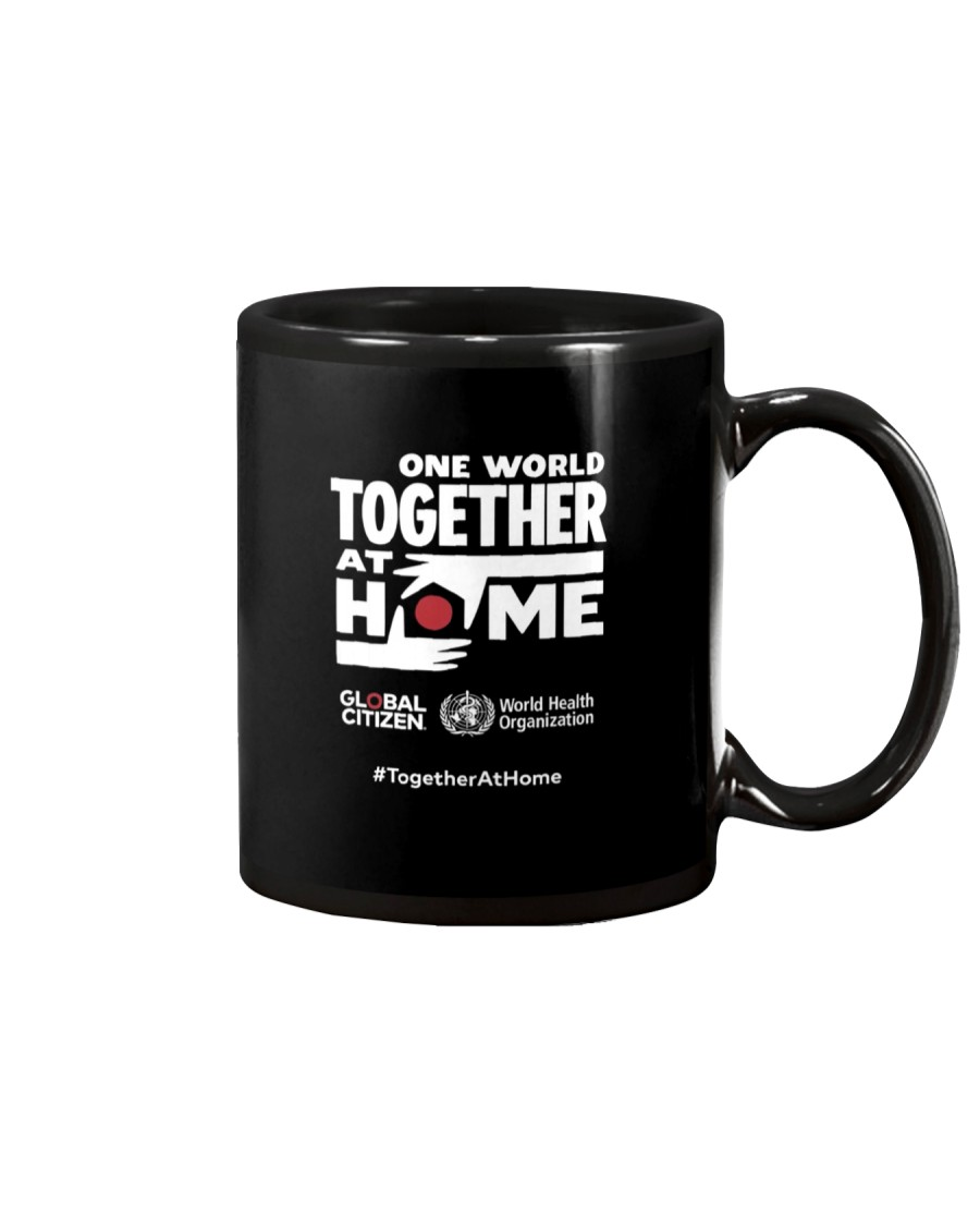 Official One World Toghther At Home T Shirt Mug