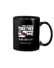 Official One World Toghther At Home T Shirt Mug front