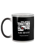 Official One World Toghther At Home T Shirt Color Changing Mug color-changing-left