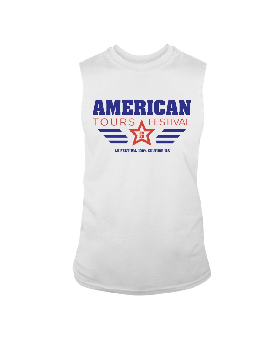 American Tours Festival 2020 Shirt Sleeveless Tee
