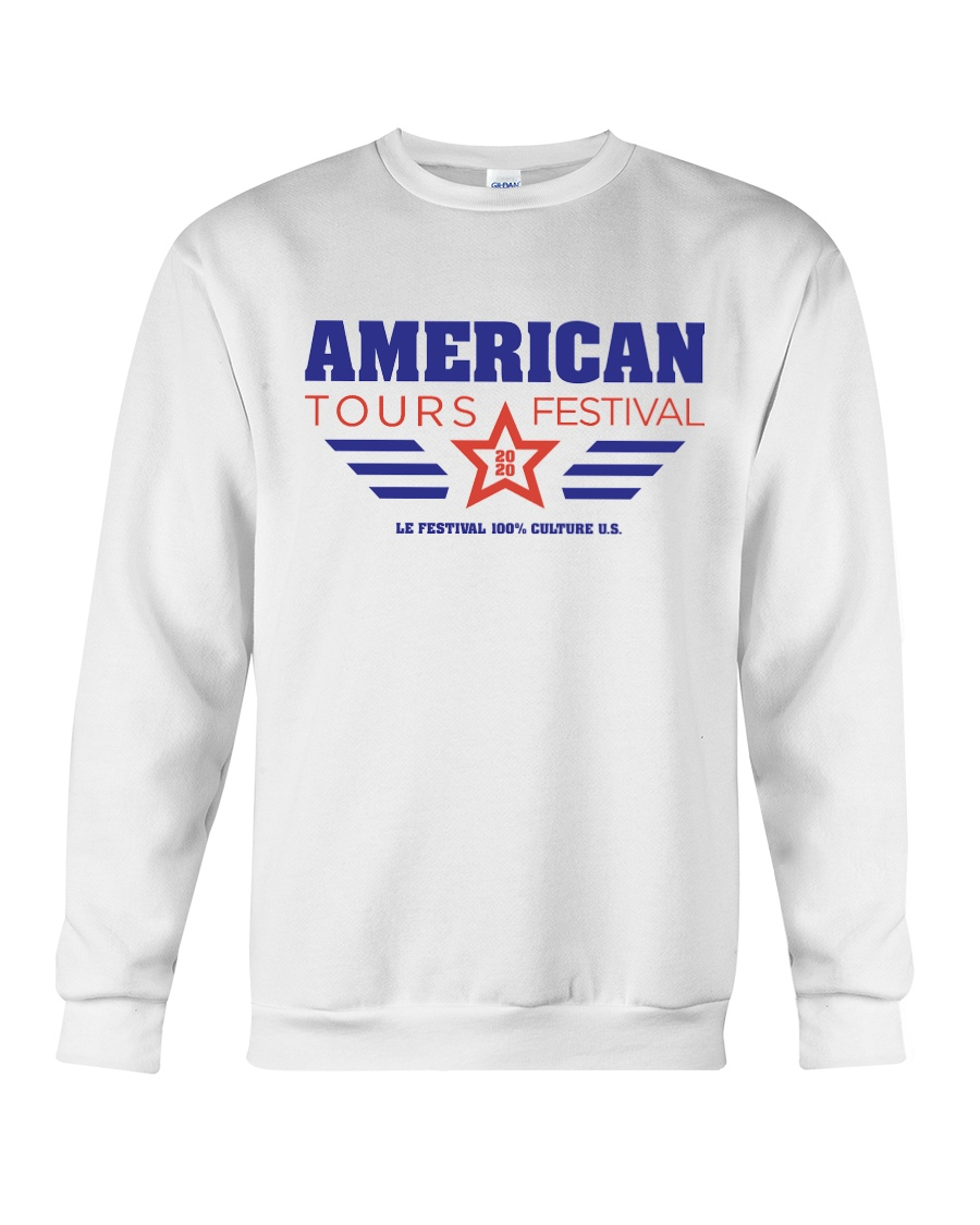American Tours Festival 2020 Shirt Crewneck Sweatshirt