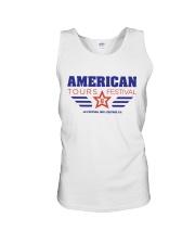 American Tours Festival 2020 T Shirt Unisex Tank front