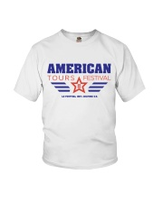 American Tours Festival 2020 T Shirt Youth T-Shirt front