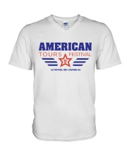 American Tours Festival 2020 T Shirt V-Neck T-Shirt thumbnail