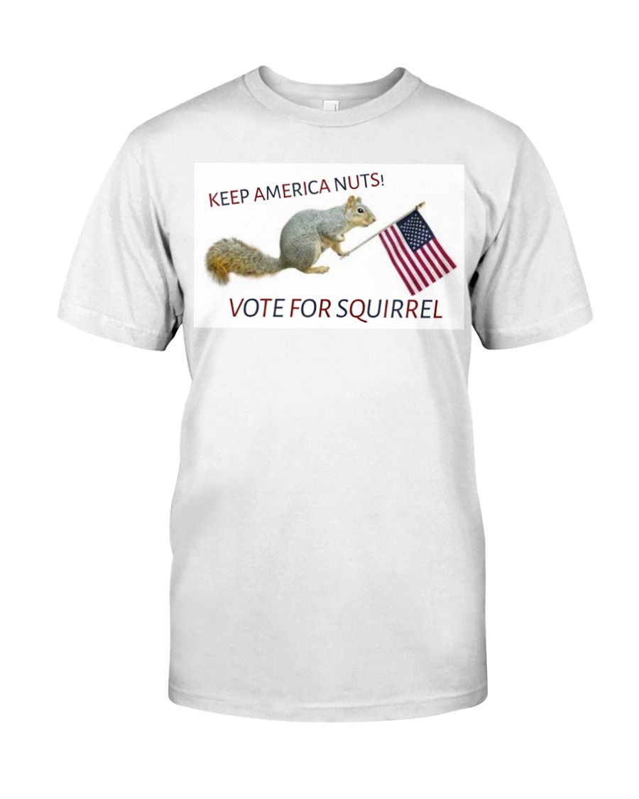 Vote for Squirrel 2020 Classic T-Shirt