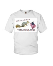 Vote for Squirrel 2020 Youth T-Shirt thumbnail