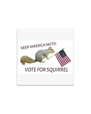 Vote for Squirrel 2020 Square Magnet thumbnail