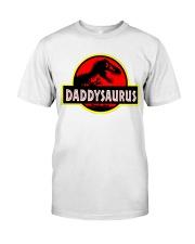 Daddysaurus Classic T-Shirt front