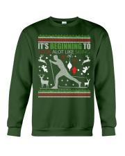 Cross Country Skiing Ugly Christmas Sweater xmas Crewneck Sweatshirt front