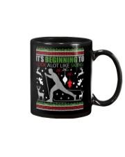 Cross Country Skiing Ugly Christmas Sweater xmas Mug thumbnail