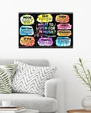 Music - What to listen for in Music  24x16 Poster poster-landscape-24x16-lifestyle-01
