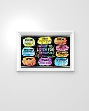 Music - What to listen for in Music  24x16 Poster poster-landscape-24x16-lifestyle-02