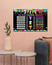 Classroom Poster - YET The Most Powerful Addition 24x16 Poster poster-landscape-24x16-lifestyle-22
