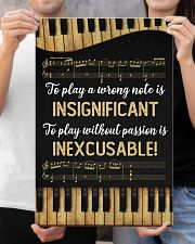 Music - Piano - Play a wrong note is insignificant 16x24 Poster poster-portrait-16x24-lifestyle-19