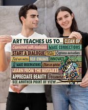 Art poster - Art teaches us to persevere 24x16 Poster poster-landscape-24x16-lifestyle-21