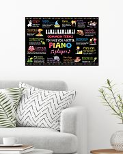 Music - Piano - Common terms 24x16 Poster poster-landscape-24x16-lifestyle-01