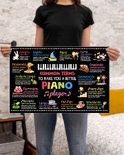 Music - Piano - Common terms 24x16 Poster poster-landscape-24x16-lifestyle-20