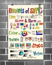 Art poster - Elements of Art - Great 11x17 Poster aos-poster-portrait-11x17-lifestyle-18