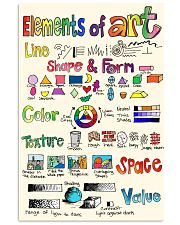 Art poster - Elements of Art - Great 11x17 Poster front