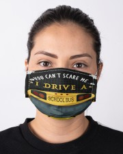 You can't scare me Bus Driver Cloth Face Mask - 3 Pack aos-face-mask-lifestyle-01