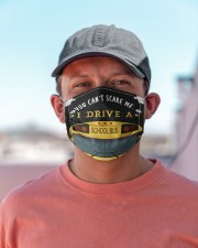 You can't scare me Bus Driver Cloth Face Mask - 3 Pack aos-face-mask-lifestyle-06