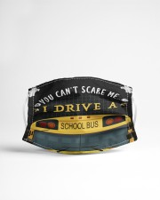 You can't scare me Bus Driver Cloth Face Mask - 3 Pack aos-face-mask-lifestyle-22