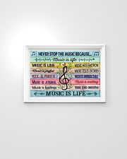 Music poster - Music is life 24x16 Poster poster-landscape-24x16-lifestyle-02
