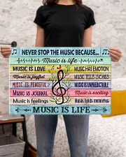 Music poster - Music is life 24x16 Poster poster-landscape-24x16-lifestyle-20