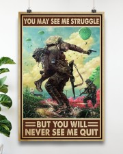 Veteran - You will never see me quit 16x24 Poster aos-poster-portrait-16x24-lifestyle-17