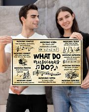 Music - What do musicians do 24x16 Poster poster-landscape-24x16-lifestyle-21