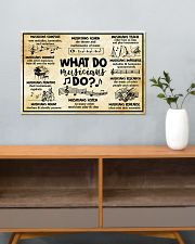 Music - What do musicians do 24x16 Poster poster-landscape-24x16-lifestyle-25