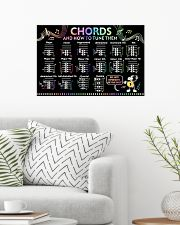 Music - Chords and how to tune them 24x16 Poster poster-landscape-24x16-lifestyle-01