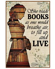Reading - Read to live 16x24 Poster front