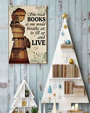 Reading - Read to live 16x24 Poster lifestyle-holiday-poster-2