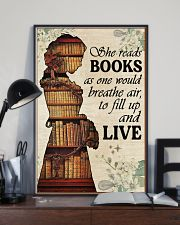 Reading - Read to live 16x24 Poster lifestyle-poster-2