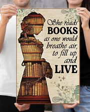 Reading - Read to live 16x24 Poster poster-portrait-16x24-lifestyle-19