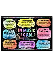 Music poster - In Music I can 24x16 Poster front