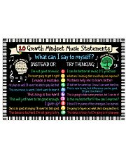 Music Poster - Growth Mindset Music 24x16 Poster front