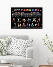Music Poster - Welcome To Music Class 24x16 Poster poster-landscape-24x16-lifestyle-01